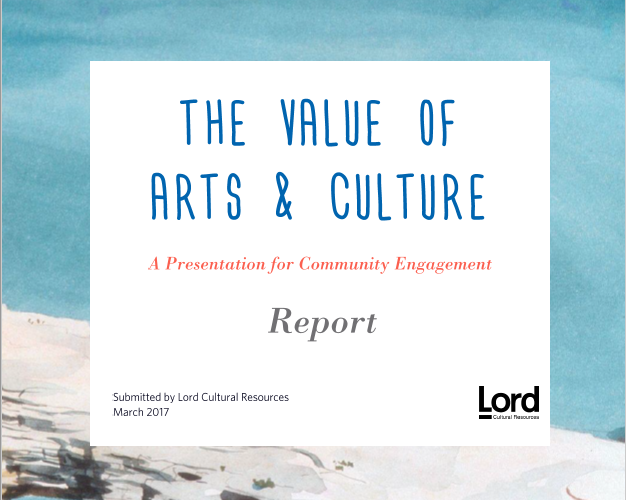The Value of Arts & Culture